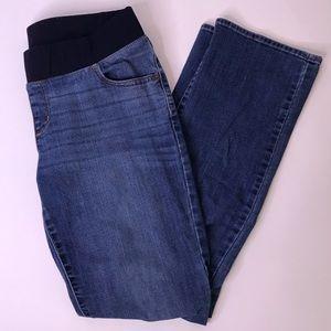 Liz Lange Bootcut Maternity Jeans, 12